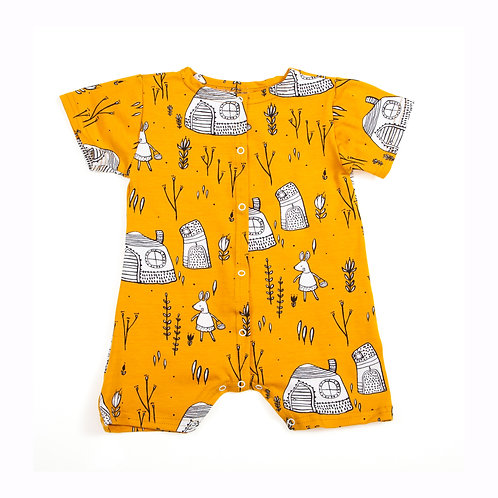 Short Jersey Baby Suit