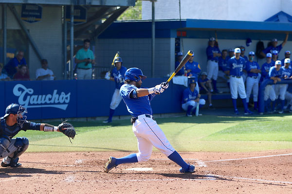 Billy Fredrick of UCSB vs Cal Poly