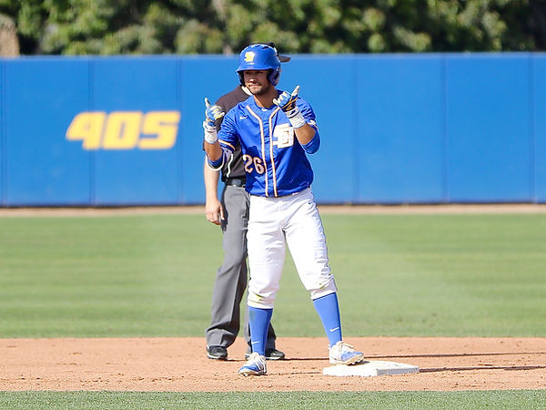 Billy Fredrick doublevs Cal State Fullerton