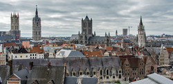 Ghent rooftops