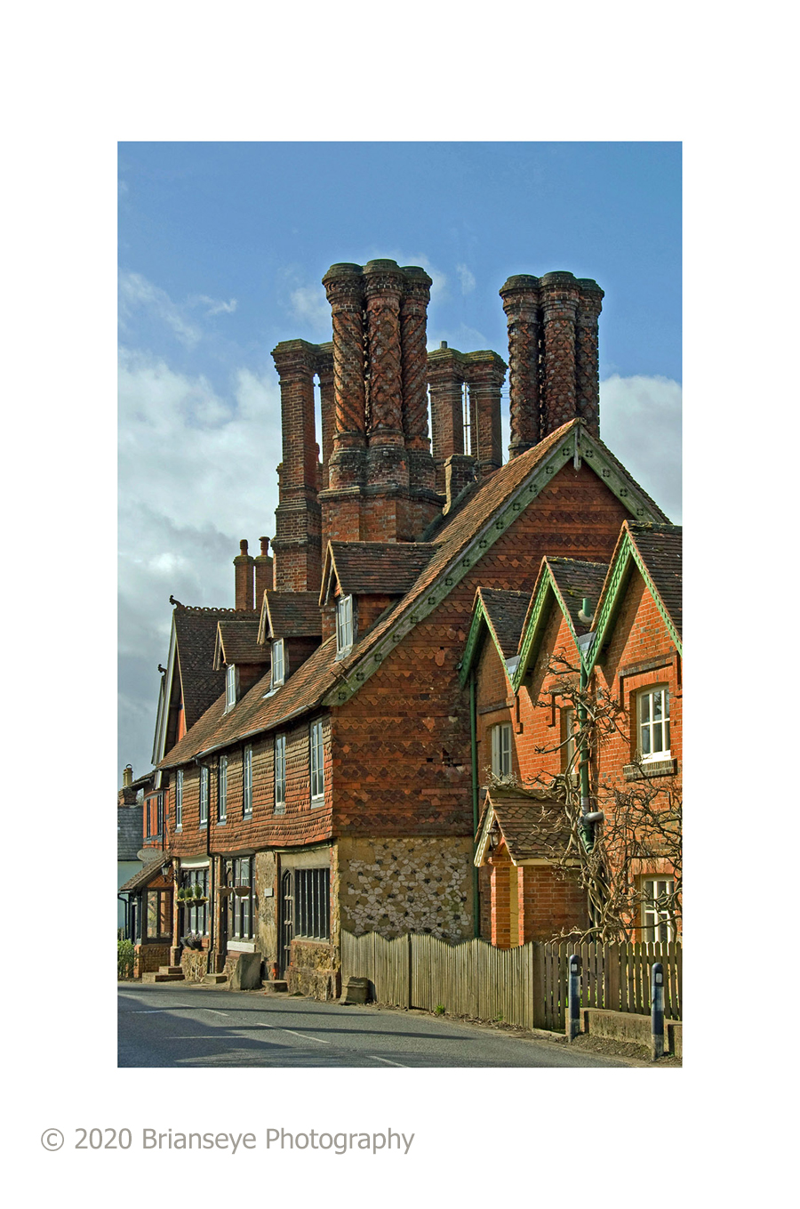 Albury Chimneys sm card