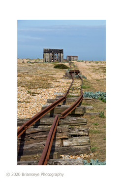 Dungeness track - sm card
