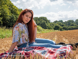Molly is a hobby model who agreed to work jointly to build our portfolios