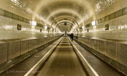 Old Elbe Tunnel Hamburg