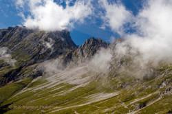 Mountain above Innsbruck