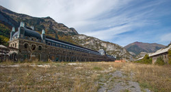 Abandoned Canfranc Station