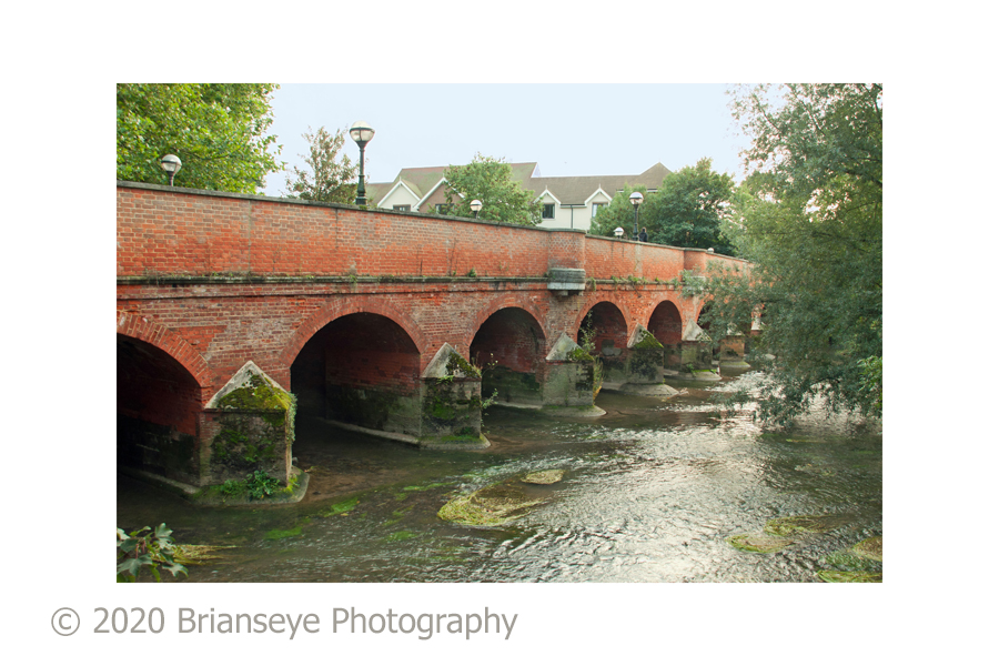 Leatherhead town bridge - card