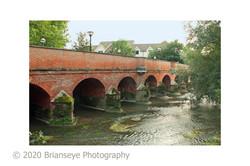 Leatherhead town bridge - card