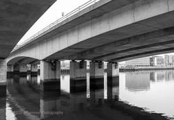 Lagan River Mway bridge