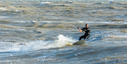 Physical Lifestyle- kite-surfing