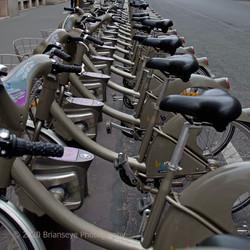 Rental bikes in Paris
