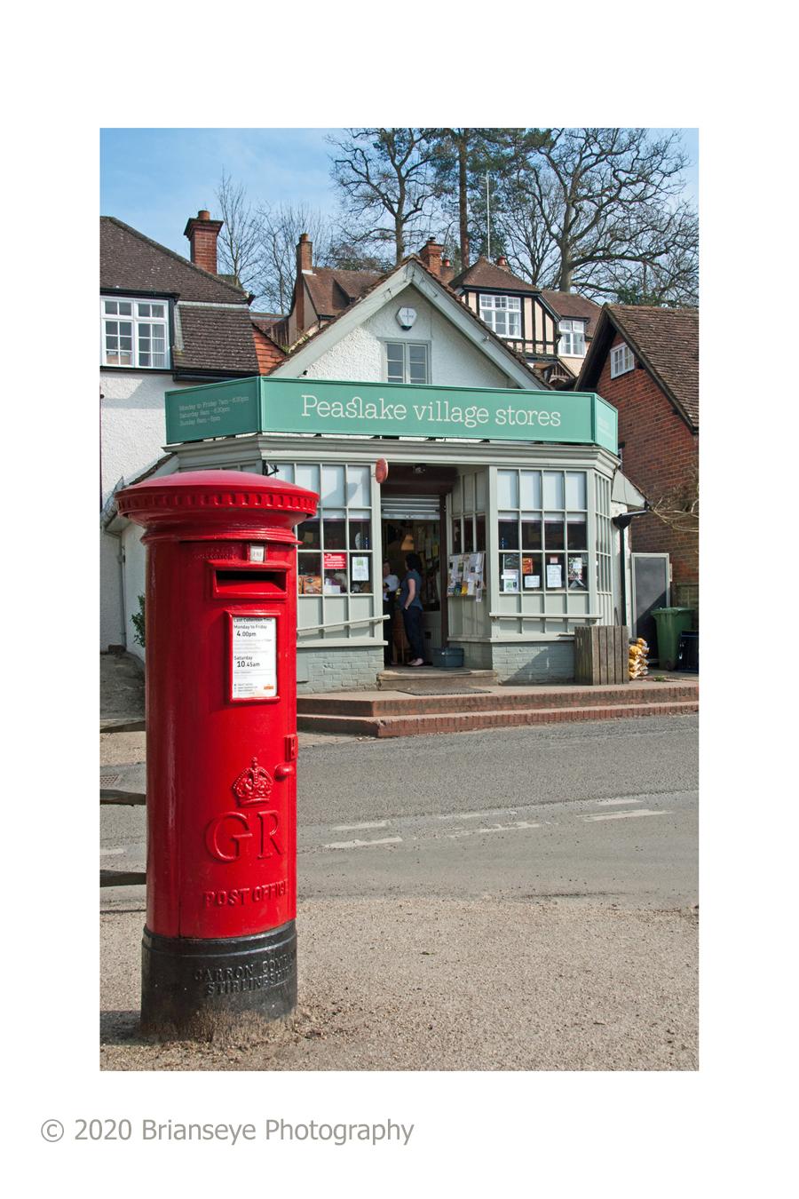 Postbox card