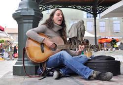 Street musician - Mirepoix France