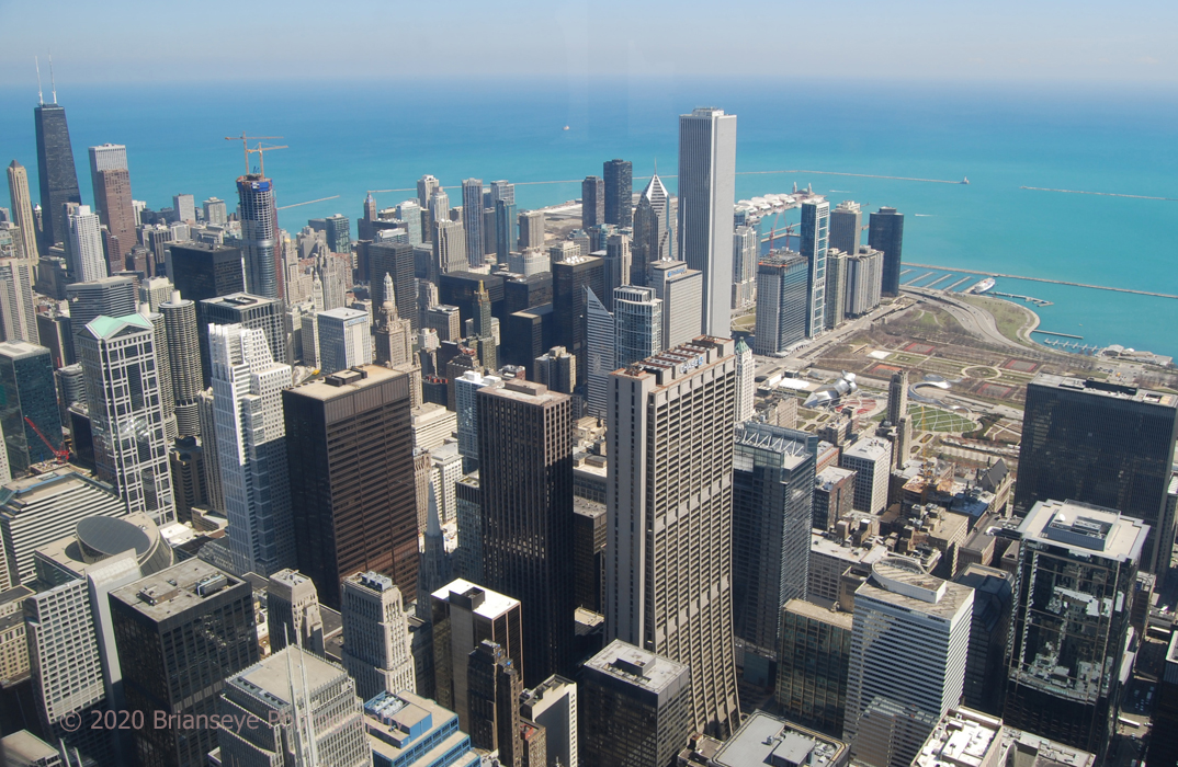View from Sears Tower - Chicago