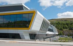 Wales - new sports hall