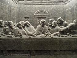 Salt carving Wieliczka