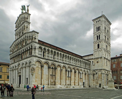 Church of San Muchele in Lucca northern Italy.