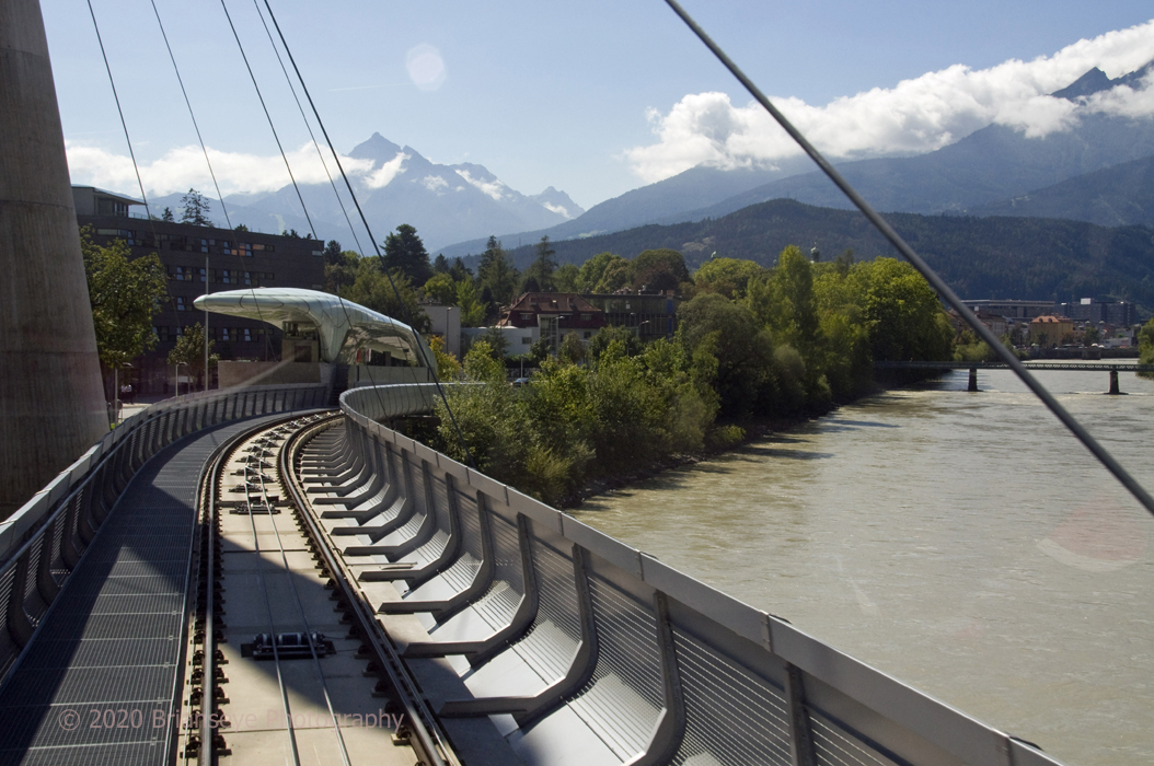 Cable car station Innsbruck