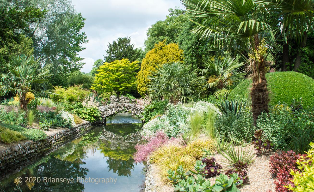 West Dean Gardens near Singleton, West Sussex