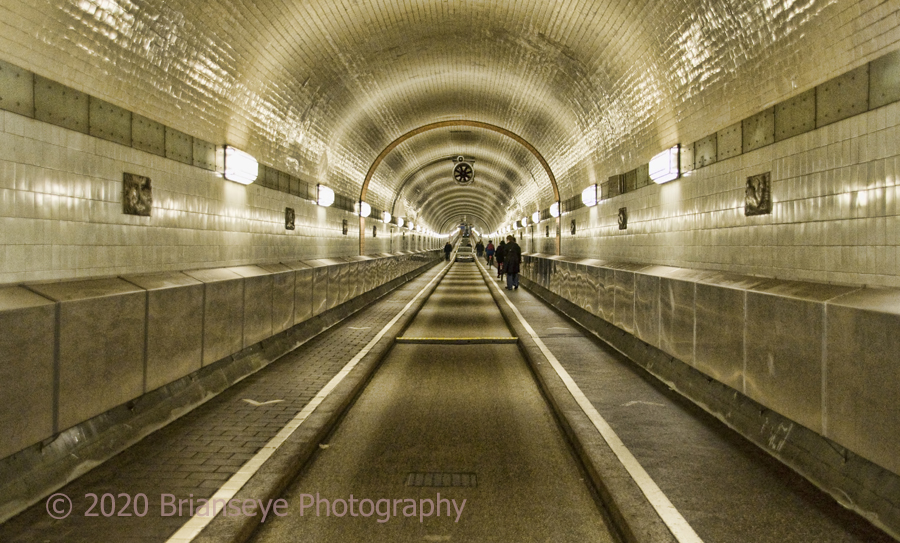 Elbe Tunnel - Hamburg