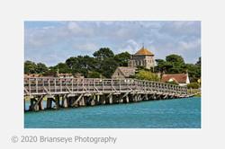 15. Shoreham old toll bridge - card