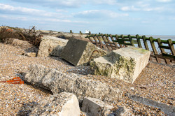 Climping Beach- Storm Damage