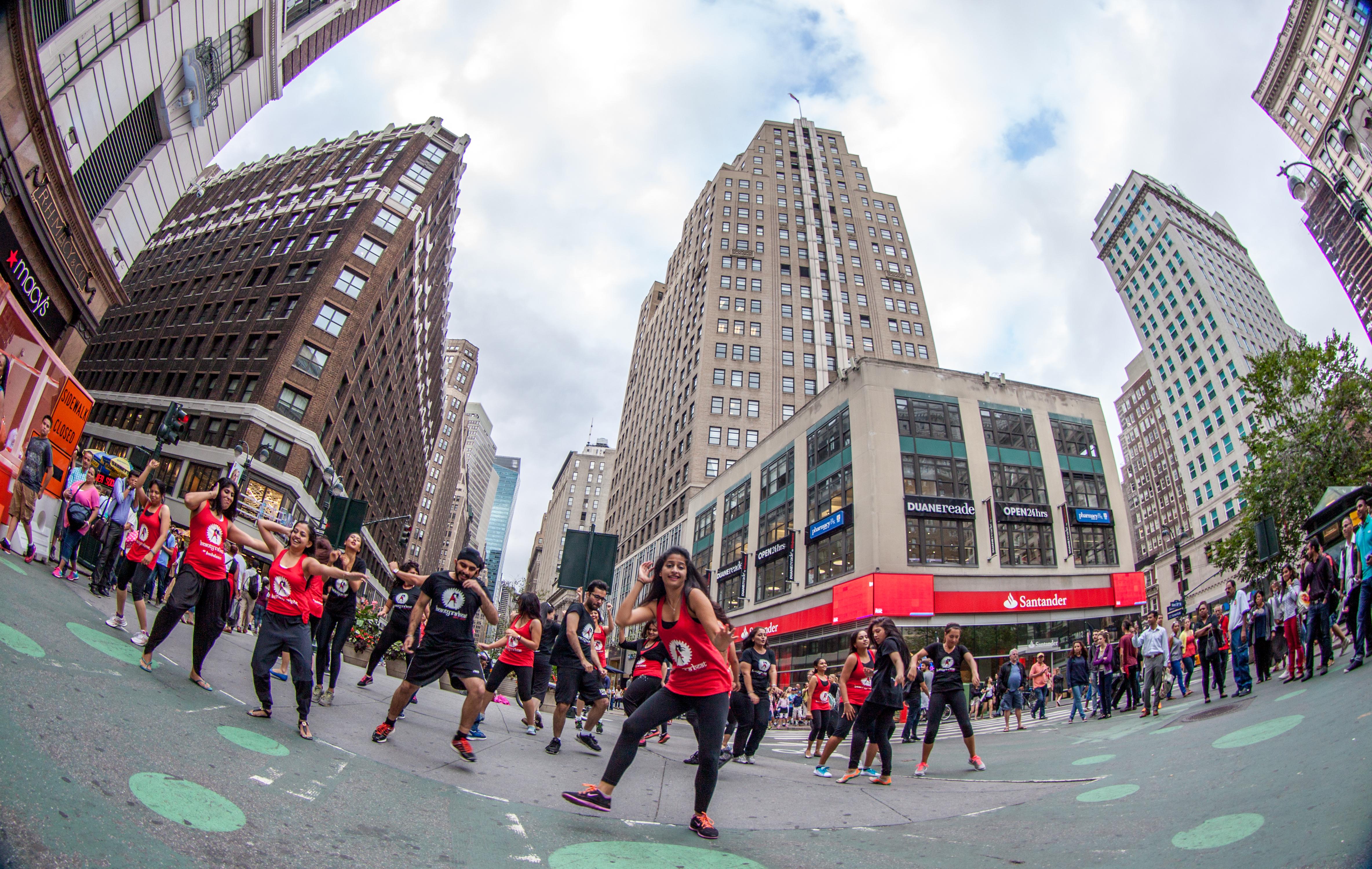 Bollywood Flashmob NYC