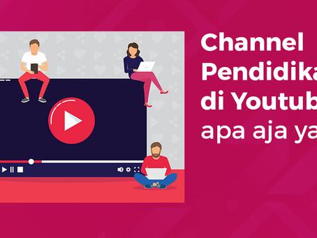 8 Channel Youtube Pilihan untuk Menambah Pengetahuan