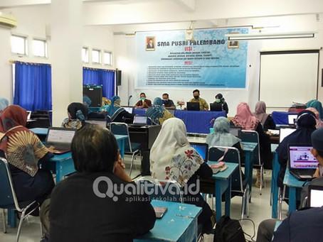 SMA PUSRI Palembang Melaksanakan IHT Pembelajaran Jarak Jauh Bersama Qualitiva