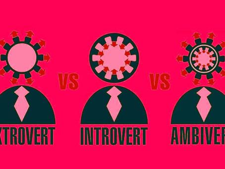 Mengenal Tipe Kepribadian. Apakah Anda seorang Extrovert, Introvert atau ambivert?