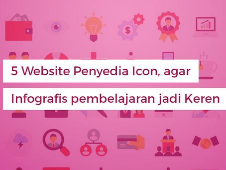 5 Website Penyedia Icon agar Infografis pembelajaran jadi Keren
