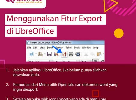 Kumpulan Trik Cara Mengubah Dokumen Word Menjadi PDF
