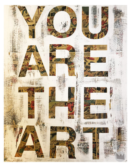 YOU ARE THE ART