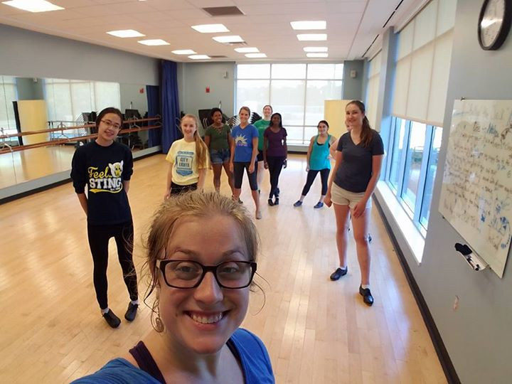 Subbing for U of R Tap class (2016)
