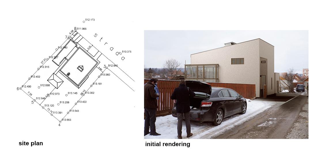 Plan de situație și fotomontaj
