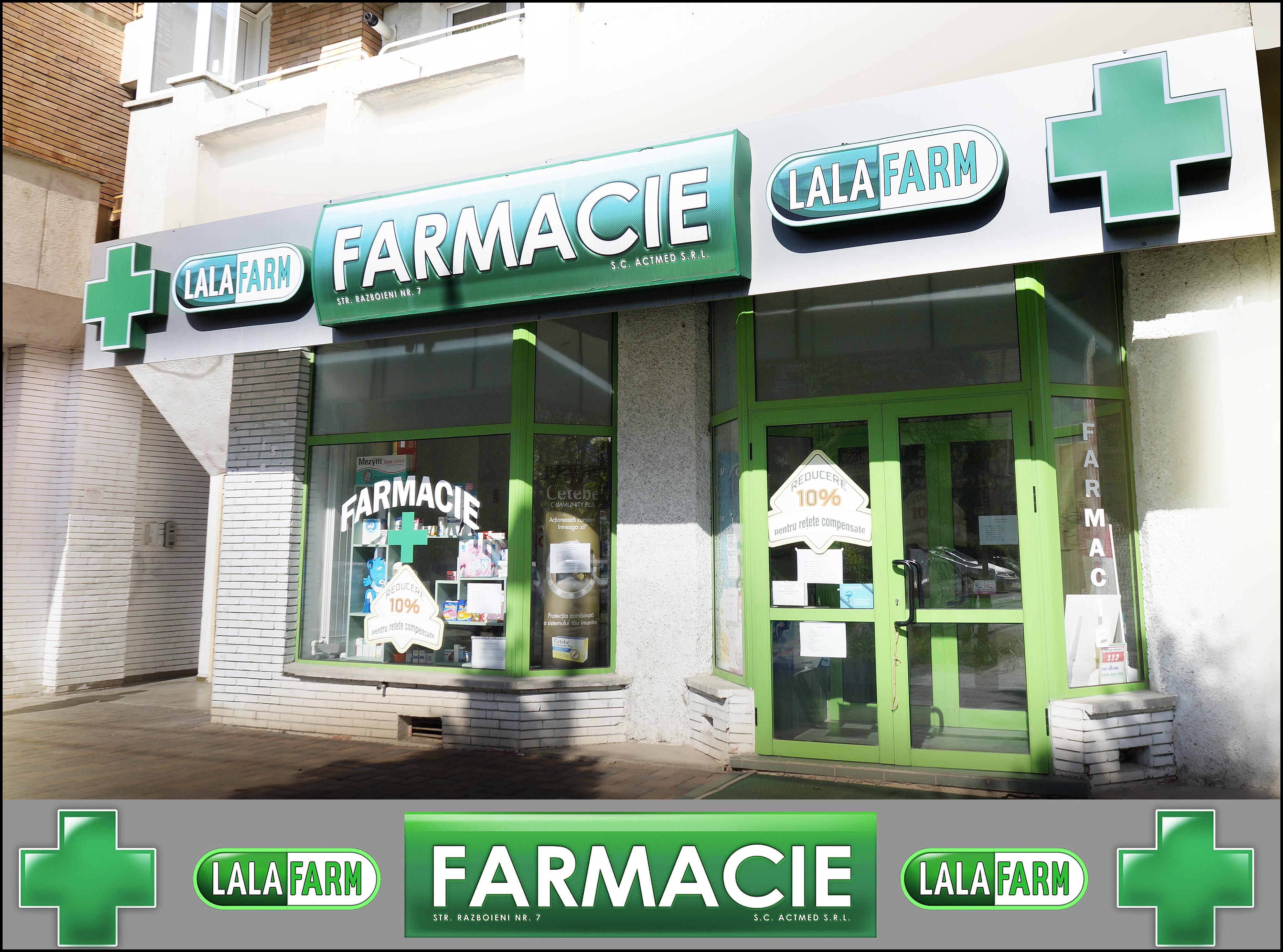 Semnalistica Lalafarm centru