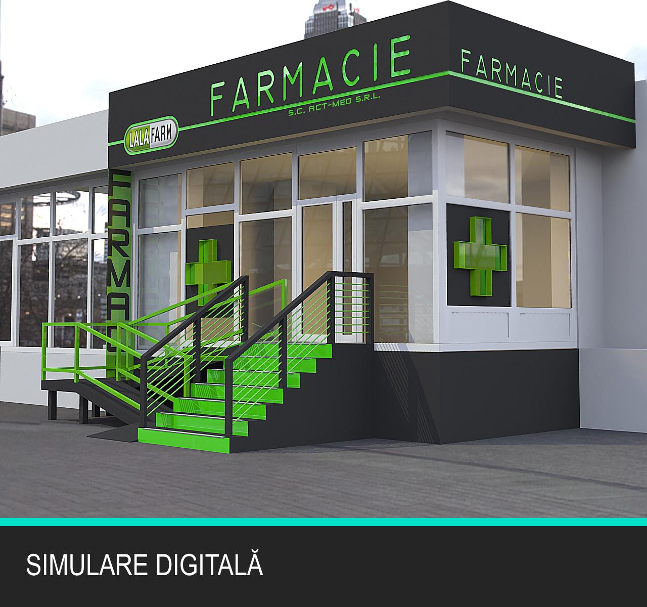 Exterior LALAfarm - simulare