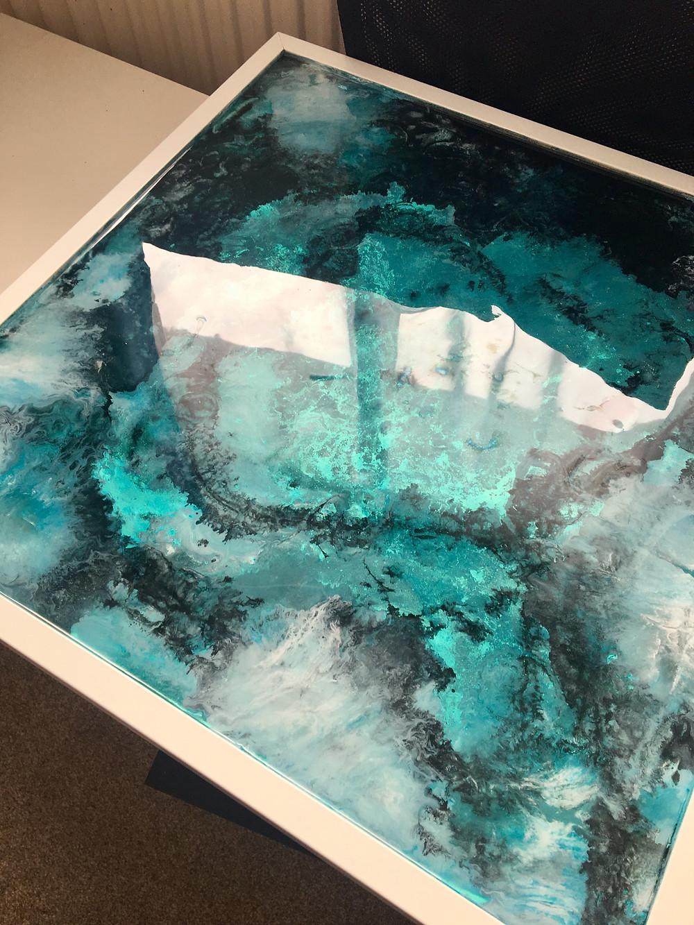 Framed Resin Art