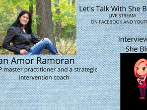 Let's Talk with Jean Amor Ramoran