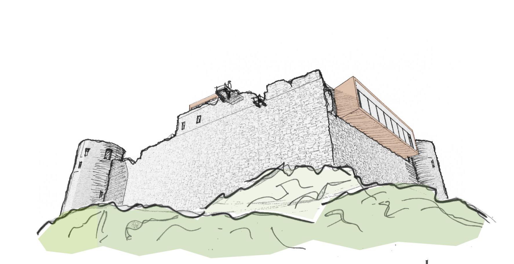 Burg Taggenbrunn_Gutshof Architektur
