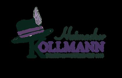 Logo Kollmann Hutmacher transparent klei