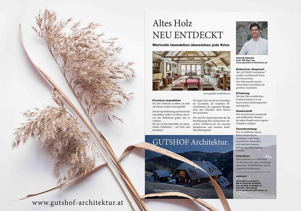 Gutshof-Architektur Historische Immobilien Architekt