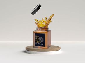 """Branding & Packaging Design für das """"Gold der Alpen"""""""