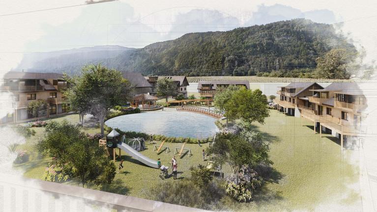 Poeckau Dorfsiedlung bei Villach   skape architects.jpg