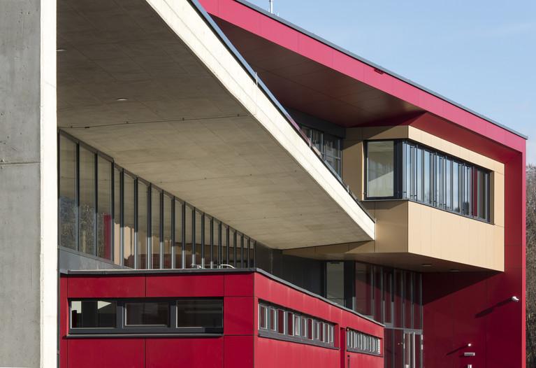 Feuerwehr St. Veit/Glan | skape architects  | Foto © Ferdinand Neumüller
