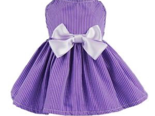 Purple Bow Dress