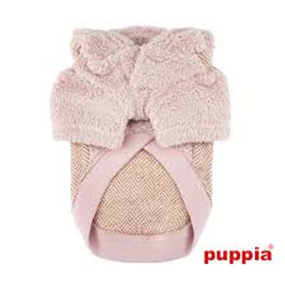Puppia Pink Jumper with Hood (Smart Tag)