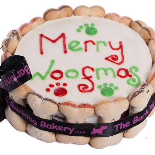 Christmas Cake for Dogs (can be personalised on request)