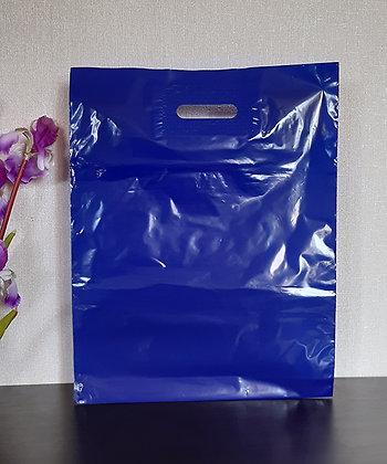 """Пакет """"Банан"""", 40х50 см, 50 мкм, ПВД, синий"""