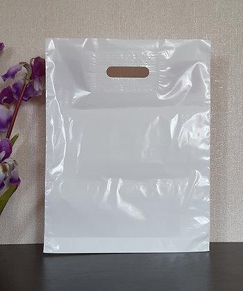 "Пакет ""Банан"", 35х45 см, 50 мкм, ПВД, белый"